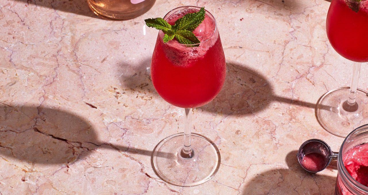 Sparkler Hibiscus-Tequila