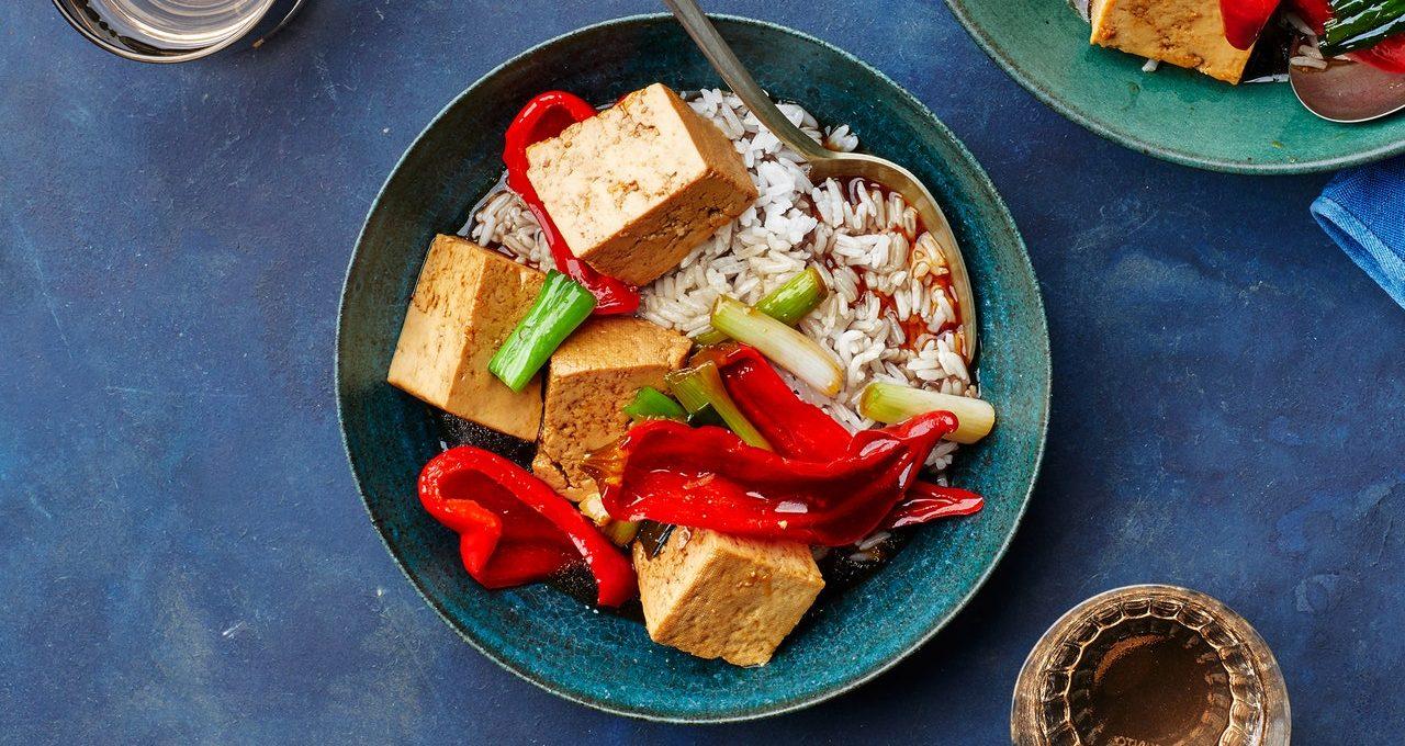 Tofu Braisé et Chilis