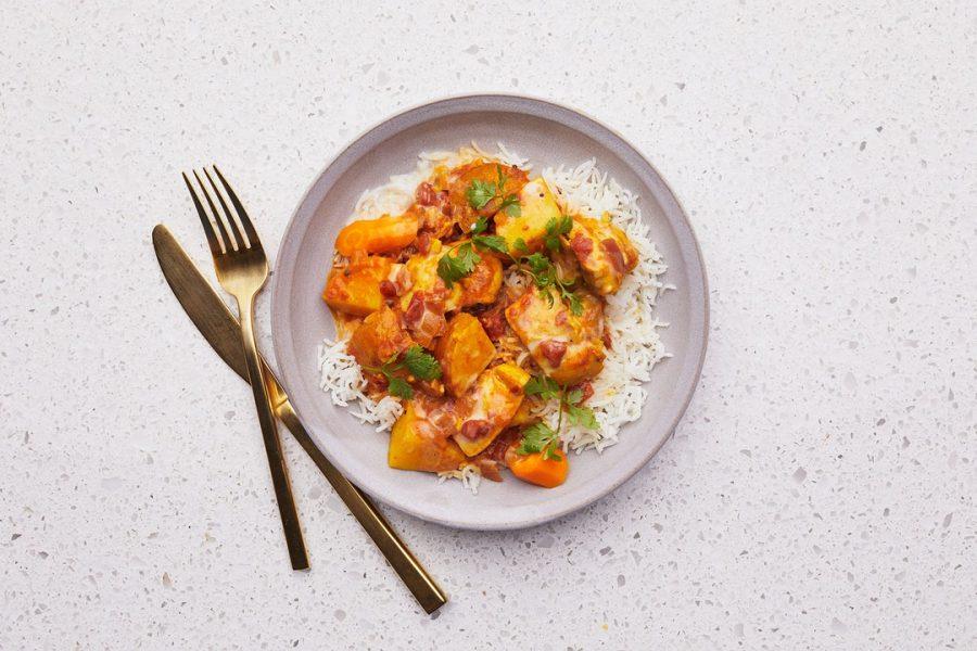 Poulet Au Curry Jaune Aux Légumes