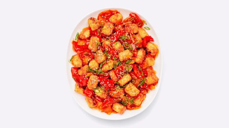 Air Fryer Chili-Frites glacées au miel