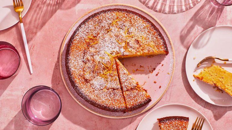 Gâteau à l'huile d'olive super citronné