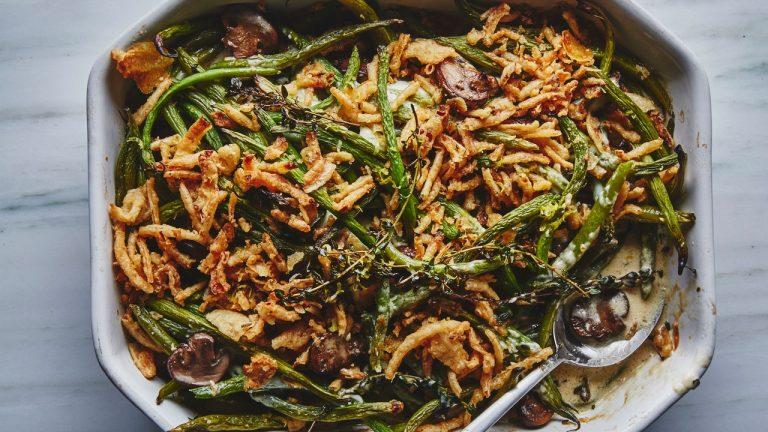La meilleure casserole de haricots verts de BA